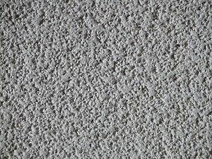 Popcorn ceiling - Popcorn ceiling texture close up