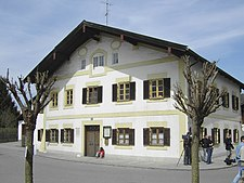 Ratzinger was born at a house in Marktl am Inn.