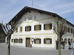 La casa natale di Joseph Ratzinger