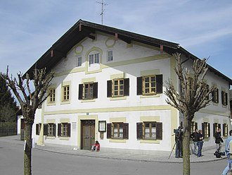Pope Benedict XVI - The birth house of Joseph Aloisius Ratzinger in Marktl, Bavaria