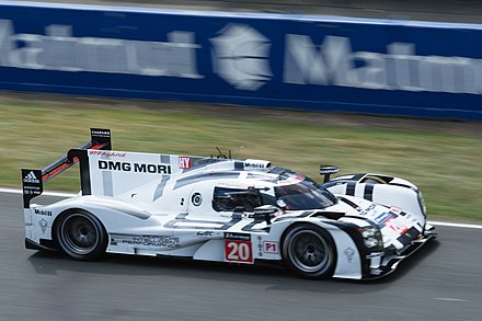 LMP1 cars have become a popular destination for retired F1 drivers, in this example Mark Webber Porsche 919 Hybrid 20.jpg