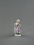 Porslin. Figurin - liten flicka - Hallwylska museet - 89219.tif