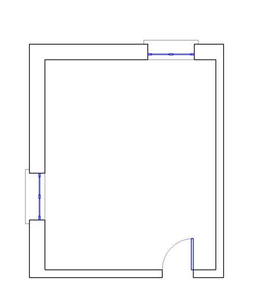 Doublecad xt subito al lavoro wikibooks manuali e libri for Disegno una finestra testo
