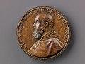 Portrait medal of Antoine Perrenot Granvelle (obverse); Don Juan of Austria Receiving the Standard from Granvelle (reverse) MET SLP1289r.jpg