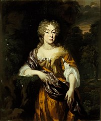 Portret van Aletta Pater (1641-1725), echtgenote van Jacob Martens
