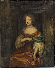 Portrait of Johanna Hulft (1649-98), wife of Pieter Rendorp