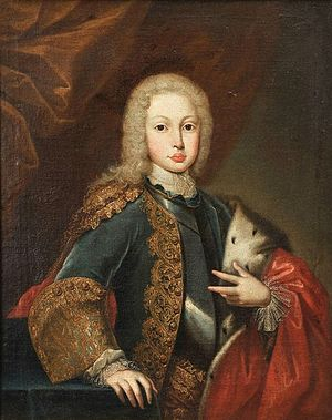 Joseph I of Portugal - Portrait of Joseph, Prince of Brazil; Domenico Duprà, 1725.
