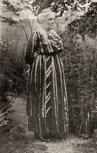 Anderson Ruffin Abbott - Anderson Abbott's wife, Mary Ann Casey Abbott, in 1863 at age 8