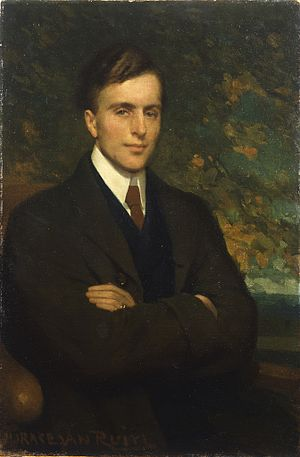 Norman O'Neill - Painting by Horace van Ruith, 1898-1899