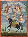 Portrait of the Prophet Muhammad riding the buraq steed - Google Art Project.jpg
