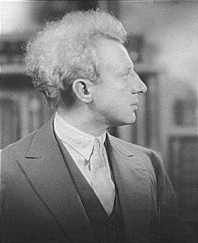 Portrait photograph of Leopold Stokowski