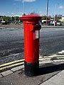 Postbox, Newtownards - geograph.org.uk - 1803527.jpg