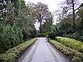 Poznań, ogród zoologiczny (stary), kon. XIX ---aleja01.JPG