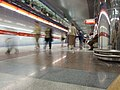 Praha, Letňany, stanice metra Letňany, nástupiště II.jpg