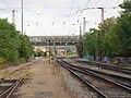 Praha-Holešovice zastávka, k zastávce.jpg