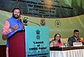 Prakash Javadekar delivering the presidential address at the National Interaction-cum-evaluation workshop for Environmental Information System (ENVIS) centres, in New Delhi.jpg