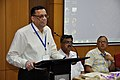Pramod Kumar Jain Addressing - Opening Session - VMPME Workshop - Science City - Kolkata 2015-07-15 8519.JPG