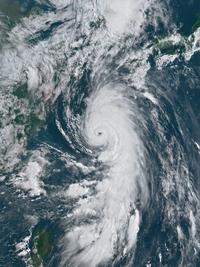 ひまわり8号による衛星画像(7月2日)