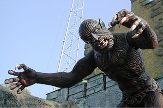 Wurstelprater - A figure meant to scare and amuse Prater visitors