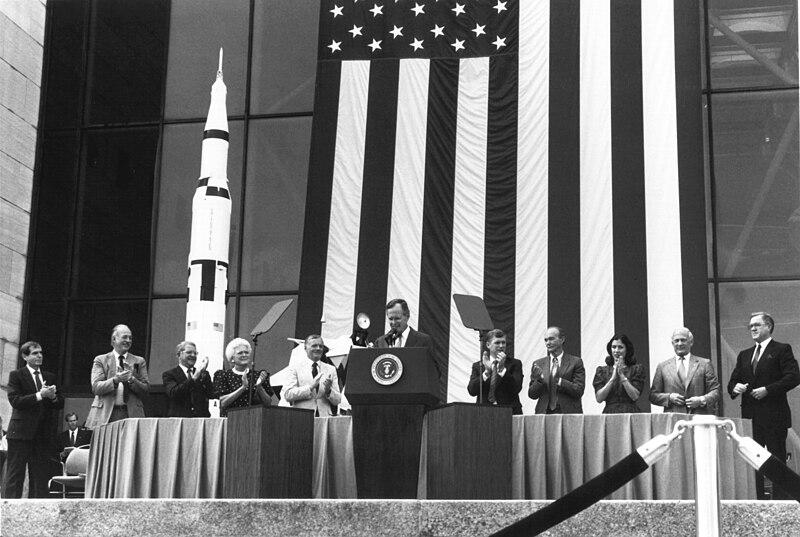 File:President George Bush and Apollo 11 Astronauts - GPN-2000-001665.jpg