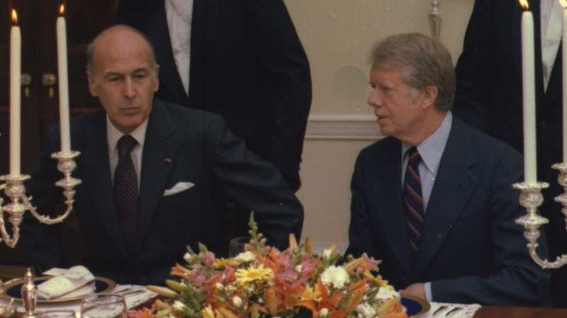 File:President Giscard d'Estaing of France and Jimmy Carter participate in a working dinner. - NARA - 179591 (cropped).tiff