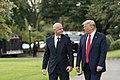 President Trump Departs for North Carolina (48708002696).jpg