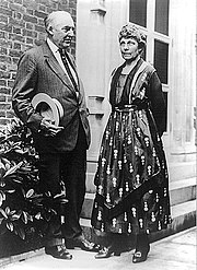 President Warren G. Harding and First Lady Florence Harding