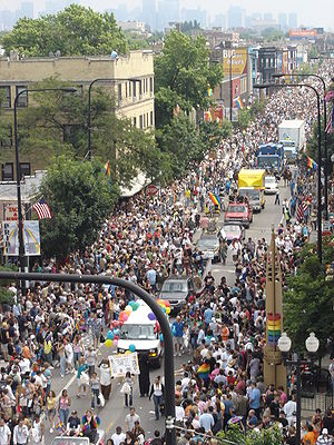 Image result for pride parade chicago