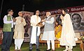 Prime Minister Narendra Modi presents 50th Jnanpeeth Award to Prof Bhalchandra Nemade.jpg