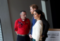 Prince Harry and Ms. Markle visit Titanic Belfast (40973166641).png