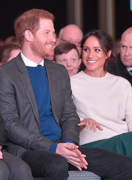 File:Prince Harry and Ms Markel attend 'Amazing The Space' event (39160293510) (cropped).jpg