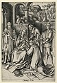 "Print, Adoration of Magi, plate 7 from series ""Life of the Virgin"", ca. 1490 (CH 18420587-2).jpg"