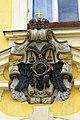 Prostějov - náměstí Tomáše Garrigue Masaryka - Two-headed Eagle of Habsburg Dynasty.jpg
