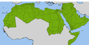 Arab League - Administrative divisions in the Arab League.