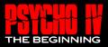 Psycho IV Logo.png