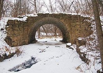 Point Douglas to Superior Military Road - The Point Douglas–St. Louis River Road Bridge in Stillwater Township, Minnesota