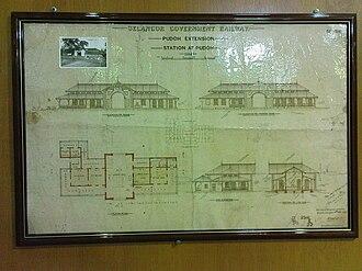 Pudu LRT station - The former Pudoh (Pudu) railway station of KTM.