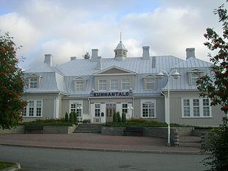 Punkalaidun - The Municipal House