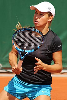 Yulia Putintseva Kazakstani female tennis player