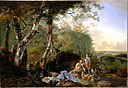 Pynacker, Adam - Landscape with Sportsmen and Game - Google Art Project.jpg