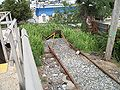 Queens Village Station; Storage Track Dead End.JPG