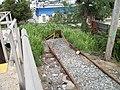 Queens Village Station; Storage Track Dead End.JPG