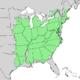 Quercus alba range map 1.png
