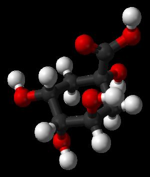 Quinic acid - Image: Quinic acid 3D balls
