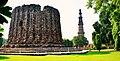 Qutub Minar and Alai Minar.jpg