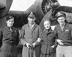 RAF Deenethorpe - 401st Bombardment Group Marlene Dietrich.jpg