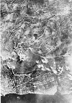 RAF Hal Far - Hal Far under attack, 1941.