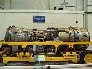 Rolls-Royce/Snecma Olympus 593 afterburning tu...
