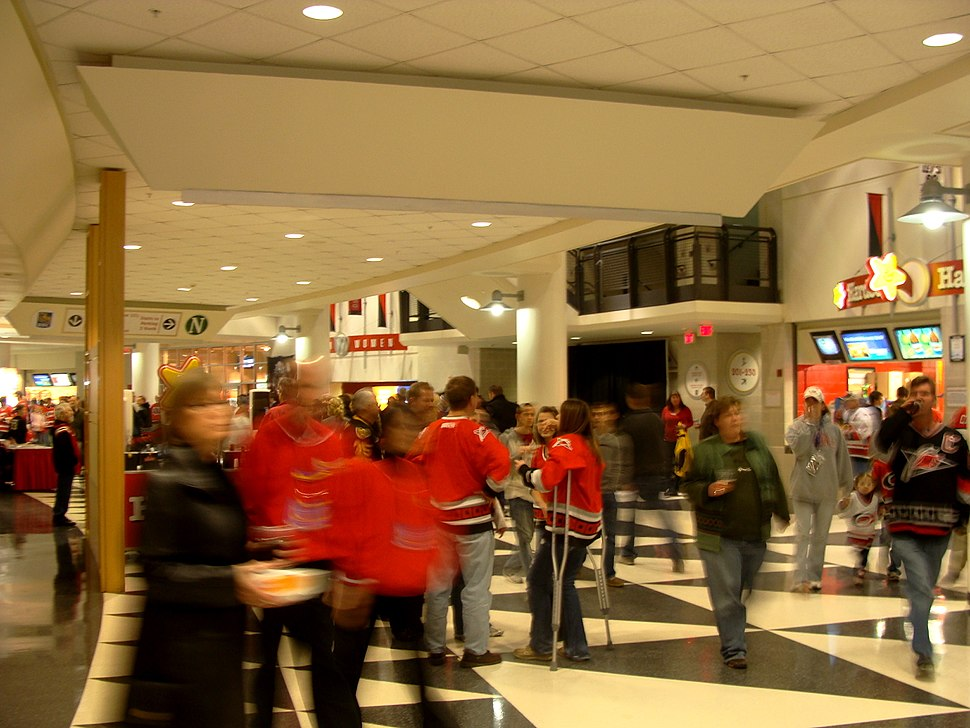 RBC Center Concourse