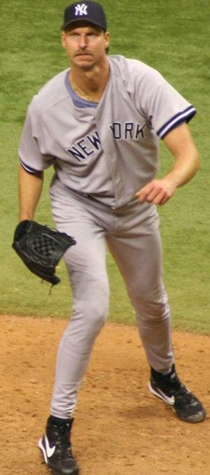 2006 New York Yankees season - Randy Johnson pitching in 2006.